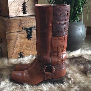 Frye Harness Americana Boots